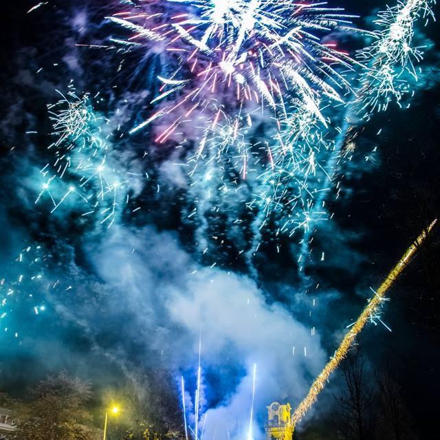 Újévköszöntő tűzijáték
