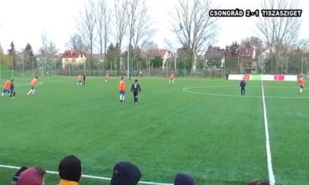 Csongrád – Tiszasziget labdarúgó mérkőzés 2016. 02. 27.