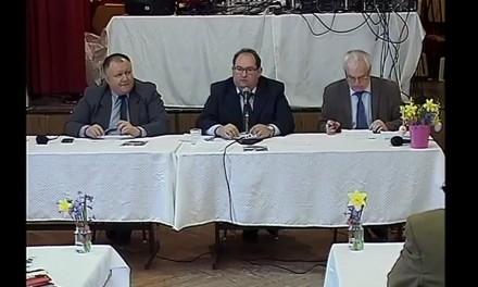 Önkormányzati testületi ülés Csongrád – Bokroson 2016. 03. 24.