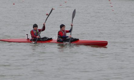 Sikeresen szerepeltek a Hanzók Örs emlékversenyen a csongrádi kajakosok