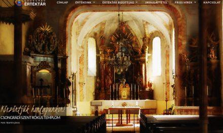 Elkészült a Csongrádi Értéktár új honlapja