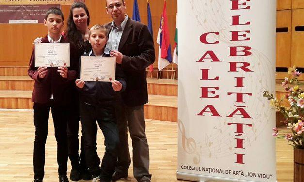 """Csongrádi sikerek a temesvári """"Calea Celebritatii"""" versenyen"""