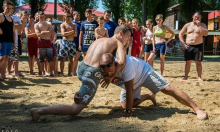 Strandbirkózó bajnokság