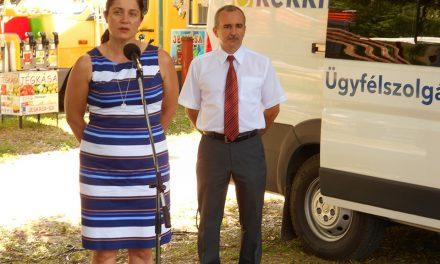Mozgó kormányablak nyílt a Körös-toroki Napokon