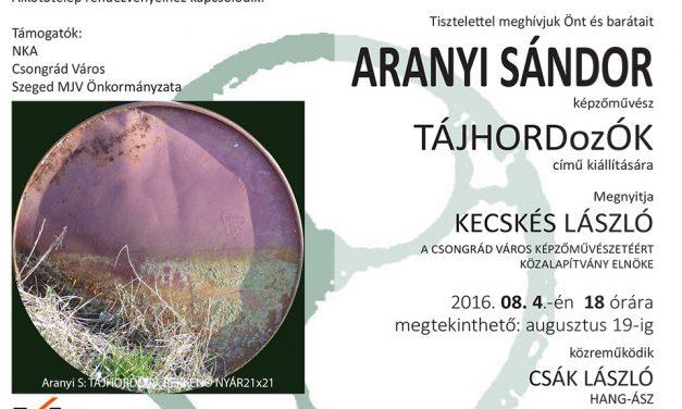 Aranyi Sándor kiállítása nyílik Budapesten