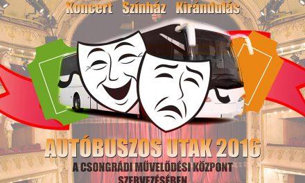 Színházról színházra – aktuális autóbuszos utak