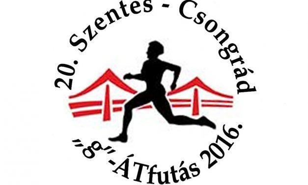 """20. Csongrád-Szentes """"g""""-ÁT futás versenykiírás"""