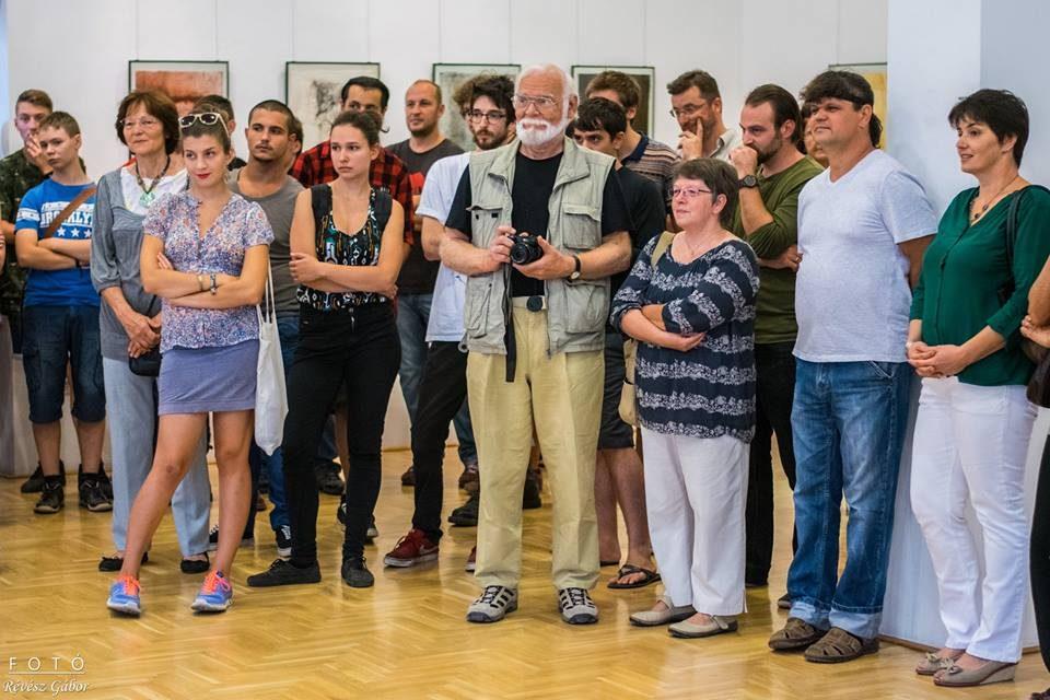 Képzőművész hallgatók kiállítása