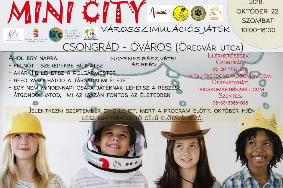 Mini City – Városszimulációs játék
