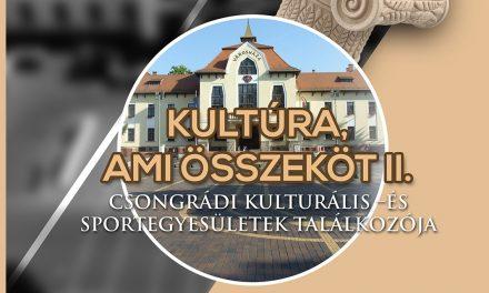 Csongrádi kulturális- és sportegyesületek találkozója