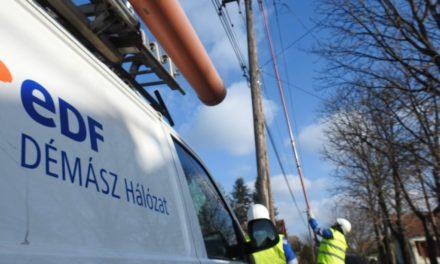 Előre tervezett munkálatok az EDF DÉMÁSZ hálózatán