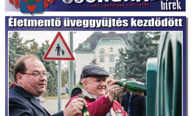 Megtekinthető a Csongrádi Hírek legújabb, március 3-án megjelenő (148.) száma