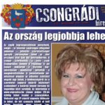Megtekinthető a Csongrádi Hírek legújabb, május 26-án megjelenő (154.) száma