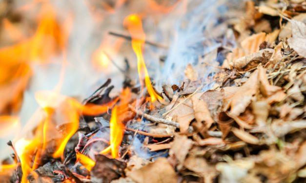 Az avar és kerti hulladék nyílttéri égetésének szabályai