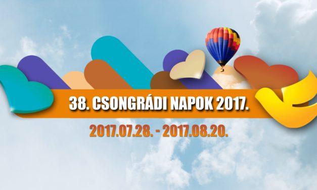 38. Csongrádi Napok 2017.