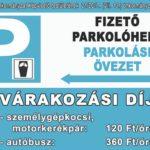 Tájékoztató a Körös-toroki üdülőterület parkolási szabályairól