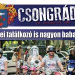 Megtekinthető a Csongrádi Hírek legújabb, augusztus 18-án megjelenő (160.) száma