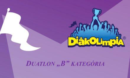 Duatlon megyei diákolimpia és meghívásos verseny Csongrádon a Körös-torokban!