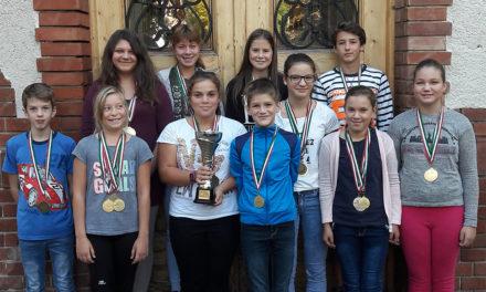 Csongrádi evezős diákolimpiai sikerek