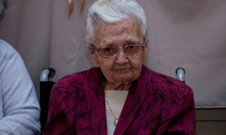 Csongrád legidősebb polgárát köszöntöttük