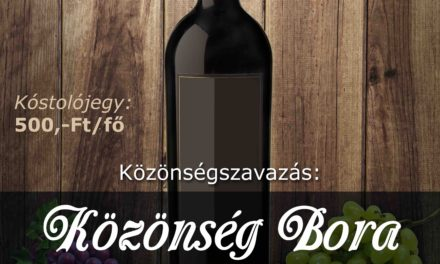 Közönség Bora Csongrád 2018.