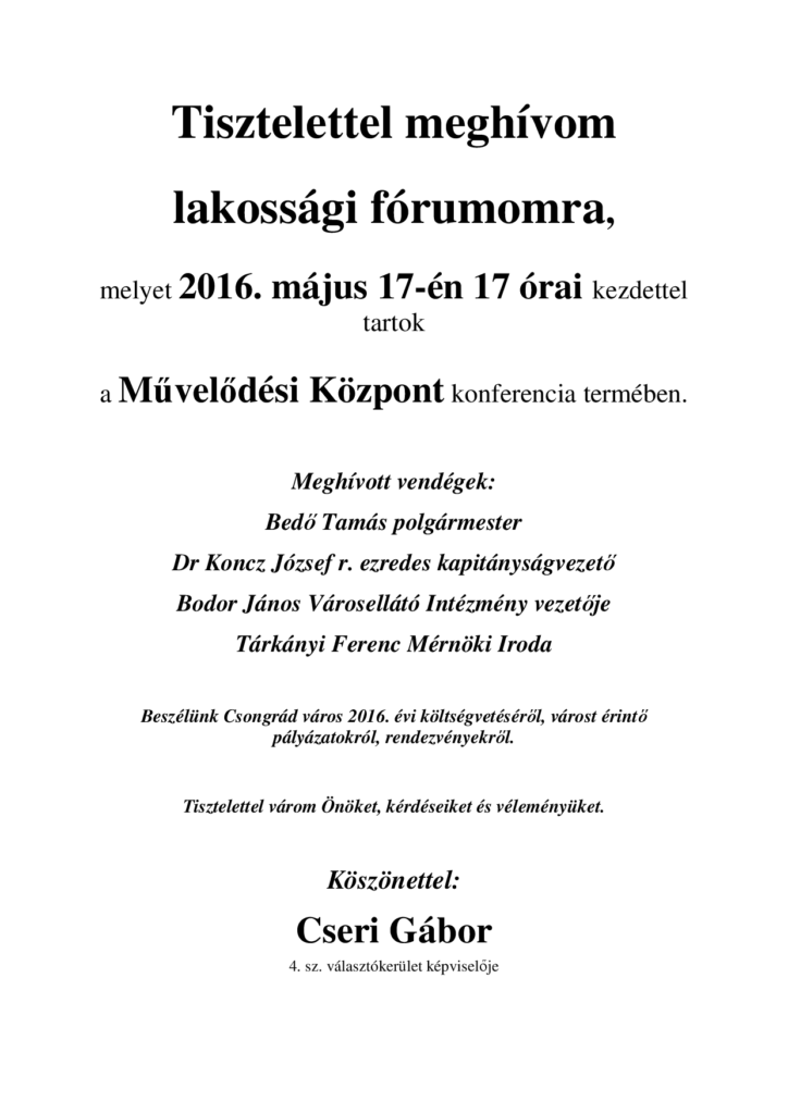 forum_cserigabor