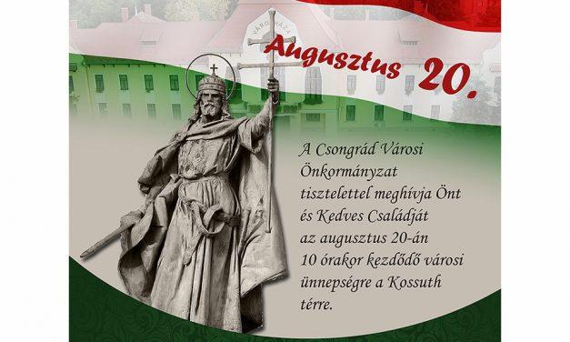 Szent István-napi ünnepség