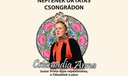 Népi ének oktatás Csongrádon