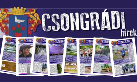 Megtekinthető a Csongrádi Hírek legújabb, október 28.-án megjelenő (139.) száma