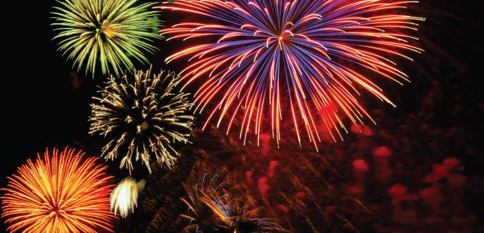 Szilveszteri tűzijáték