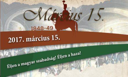 Március 15-i ünnepség