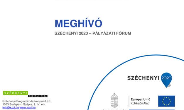 Széchenyi 2020 – pályázati fórum Bokroson