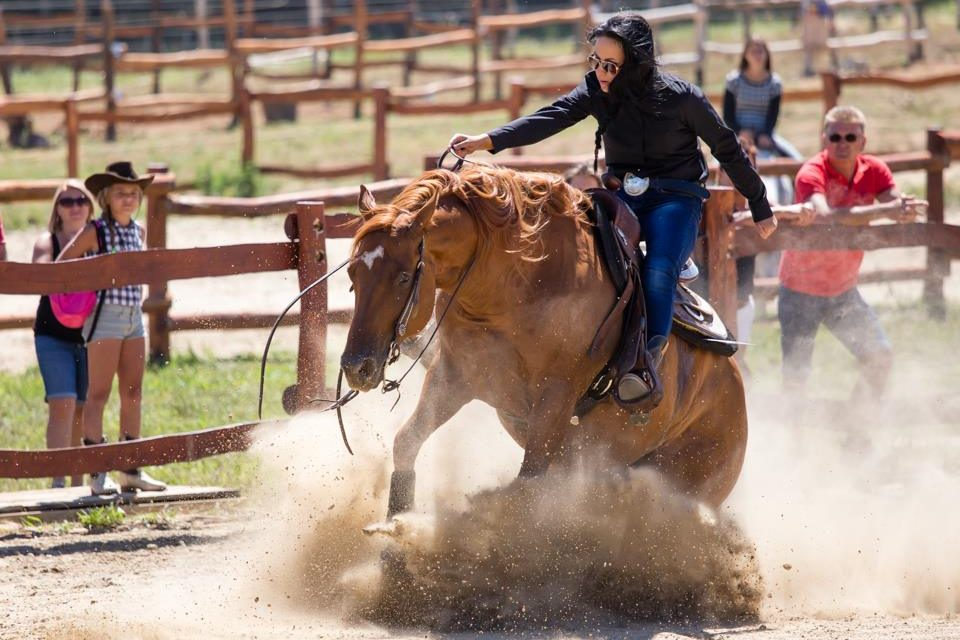 Fássy Evelin az ország legeredményesebb western lovasa