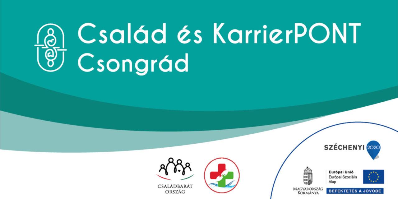 Család és KarrierPONT Csongrád – megnyitó rendezvény