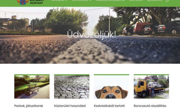 Elindult a Közterület-felügyelet önálló honlapja