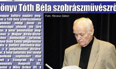 Megtekinthető a Csongrádi Hírek legújabb, február 1-én megjelenő (197.) száma