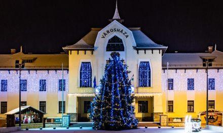 A város karácsonyfája!