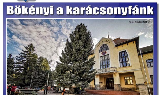 Megtekinthető a Csongrádi Hírek legújabb, november 29-én megjelenő (217.) száma