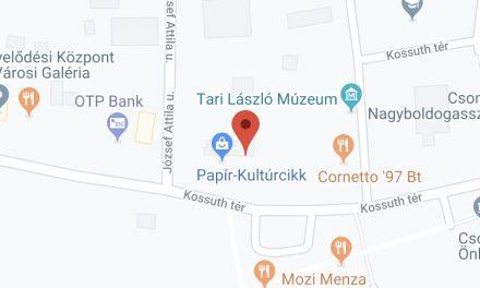 Csongrád Városi Önkormányzat nyílt árverést hirdet a Csongrád, Kossuth tér 8-10. szám alatti 1. számú garázs bérbeadására