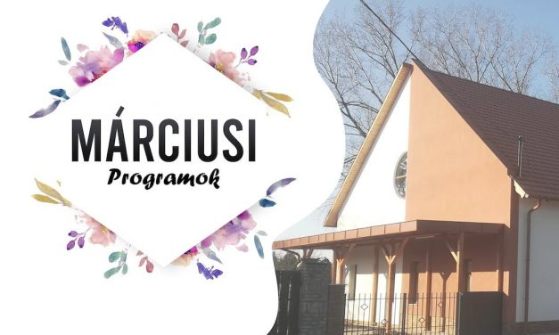 Márciusi programok a Bokrosi Művelődési Ház és Könyvtárban
