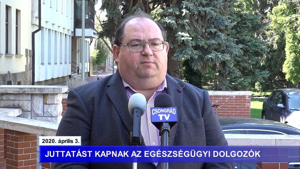 Bedő Tamás polgármester tájékoztatója a koronavírusról – 2020.04.03.