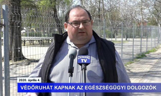 Bedő Tamás polgármester tájékoztatója a koronavírusról – 2020.04.04.