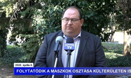 Bedő Tamás polgármester tájékoztatója a koronavírusról – 2020.04.06.