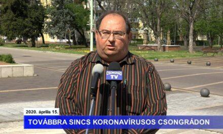 Bedő Tamás polgármester tájékoztatója a koronavírusról – 2020.04.15.