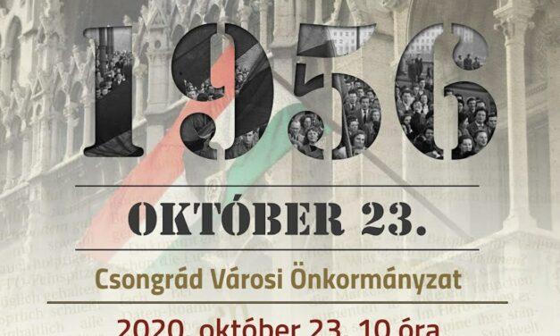 Október 23-ai Ünnepség