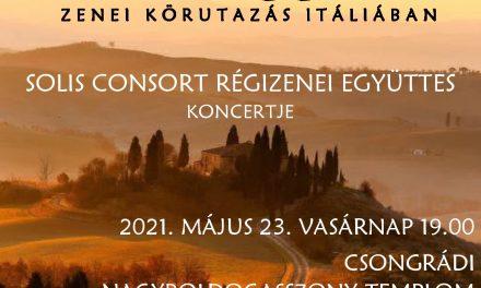 Buon  viaggió!  – zenei körutazás Itáliában