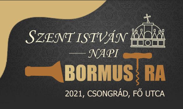 Bormustra 2021. részletes programjai
