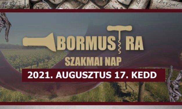 Bormustra Szakmai Nap Csongrád-Bokroson