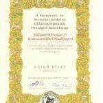 Az Ellésparti Környezet- és Természetvédelmi Oktatóközpont munkáját Enikő-díj kitüntetéssel ismerték el