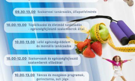 Ingyenes – Egészségnap az EFI szervezésében
